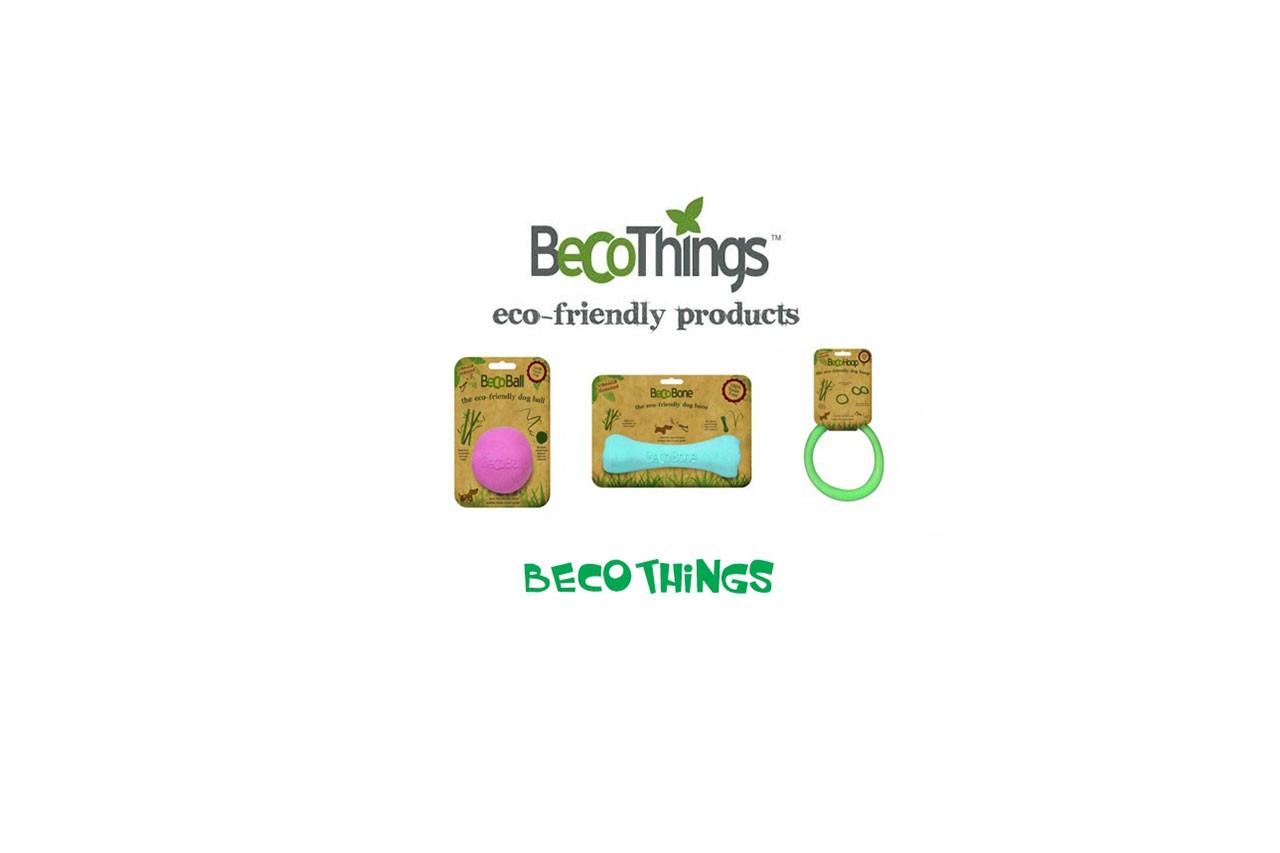 PikaŠOP dodatki okolju in živalim prijazne igračke BECO things